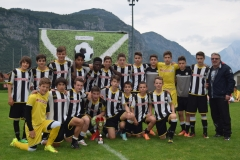 Udinese seconda classificata